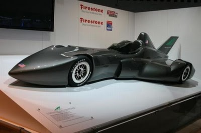 Delta Wing Racer Car - Vehicle Technology
