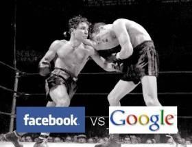 Facebook Vs Google - Visitors War