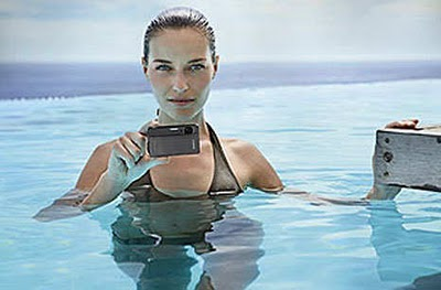 Sony DSC-TX5 Waterproof Digital Camera, New Electronic Technology