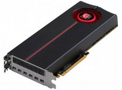 ATI Radeon HD 5870 Eyefinity 6th Edition Graphics Card