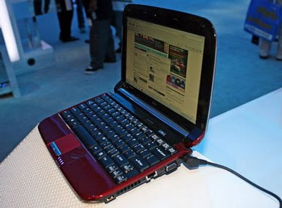 Fujitsu LifeBook MH330 Netbook Specs and Reviews