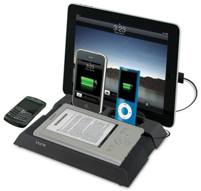 ihome-charging-st - phone charging station