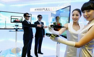 LG LX9500 – The First Full 3D LED TV