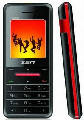 Zen X380 Dual-SIM Multimedia Mobile Phone